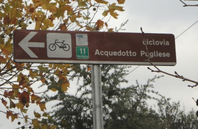 Biking on the aqueduct